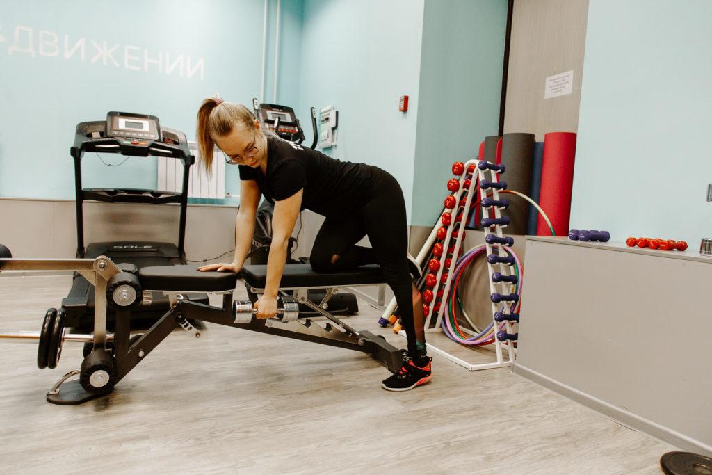 """Фото с тренировок в фитнес-клубе """"В Движении"""""""