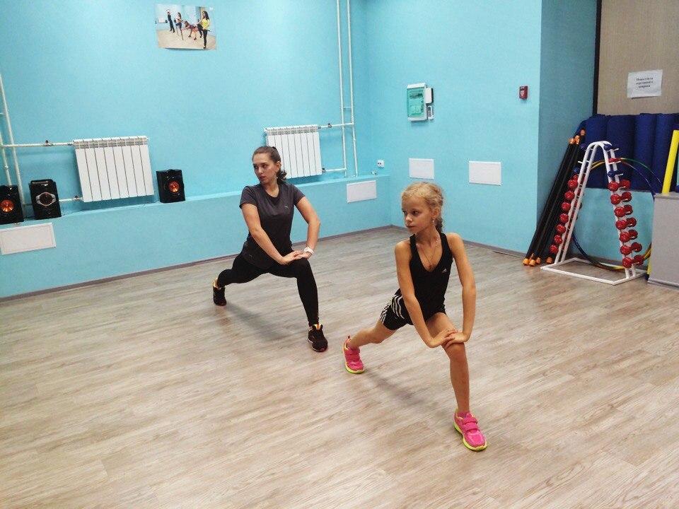 """Детские тренировки в фитнес-центре """"В Движении"""""""
